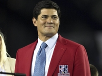 Ex-Patriots LB Bruschi 'doing much better' after stroke thumbnail
