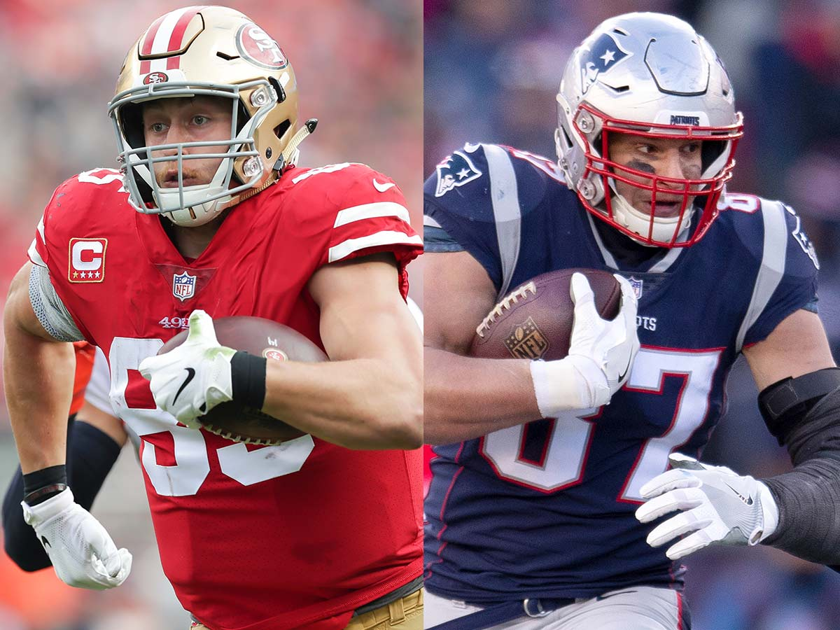 Could 49ers Kittle Be Gronk 2 0 Jimmy G Thinks So Nfl Com