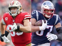Could 49ers' Kittle be Gronk 2.0? Jimmy G thinks so thumbnail