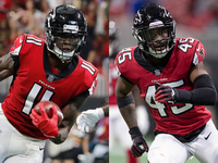 Julio Jones, Deion Jones still dealing with foot injuries thumbnail