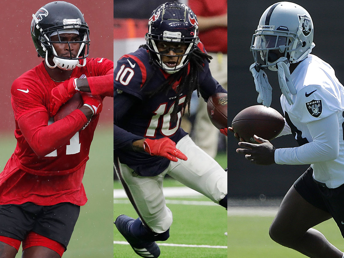 Best Receiver 2020.Top 10 Receivers Of 2019 Deandre Hopkins Edges Julio Jones