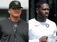 Gruden: Can't get 'party started' minus Antonio Brown thumbnail
