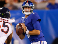 Giants QB Jones fumbles twice in up-and-down night thumbnail