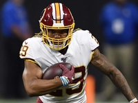 Gruden 'impressed' with RB Guice's preseason debut thumbnail