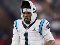 Rivera: Cam Newton progressing after shedding boot thumbnail