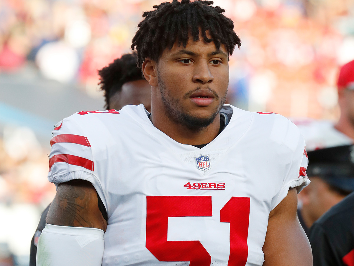 Niners release LB Malcolm Smith after