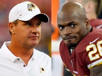 Jay Gruden explains Adrian Peterson's healthy scratch thumbnail