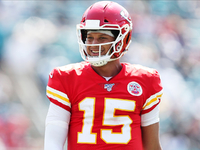 Chiefs' Patrick Mahomes (ankle) practicing Wednesday thumbnail