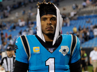 Cam Newton (foot) misses practice Wednesday thumbnail