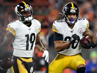 JuJu, Conner exit early in Steelers' loss to Browns thumbnail