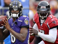 Jalen Ramsey asks Vick for 'tips' on how to stop Lamar thumbnail