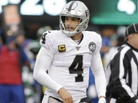 Derek Carr: Raiders got 'face kicked in' vs. Jets thumbnail