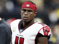 Injuries: Falcons optimistic WR Julio Jones plays thumbnail