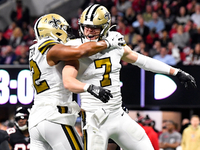 Saints clinch NFC South title with win over Falcons thumbnail