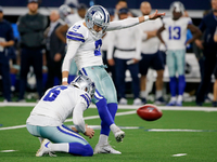 Cowboys to stay with kicker Brett Maher after workout thumbnail