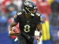 Lamar Jackson now second QB with 1,000 rushing yards thumbnail