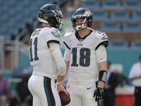 Josh McCown was ready to fill in at WR for Eagles thumbnail