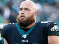 Eagles' Lane Johnson week-to-week with ankle injury thumbnail