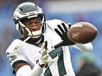 Eagles place Alshon Jeffery (foot) on injured reserve thumbnail