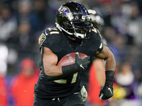 Ravens RB Mark Ingram (calf) questionable vs. Titans thumbnail