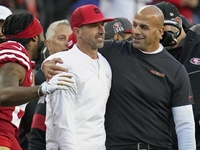 Shanahan 'pumped' Saleh is staying with Niners thumbnail