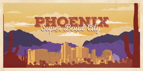 Super Bowl City: Phoenix