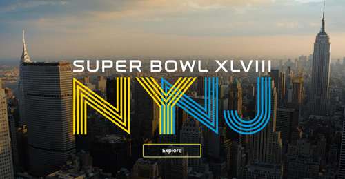 Super Bowl City: New York