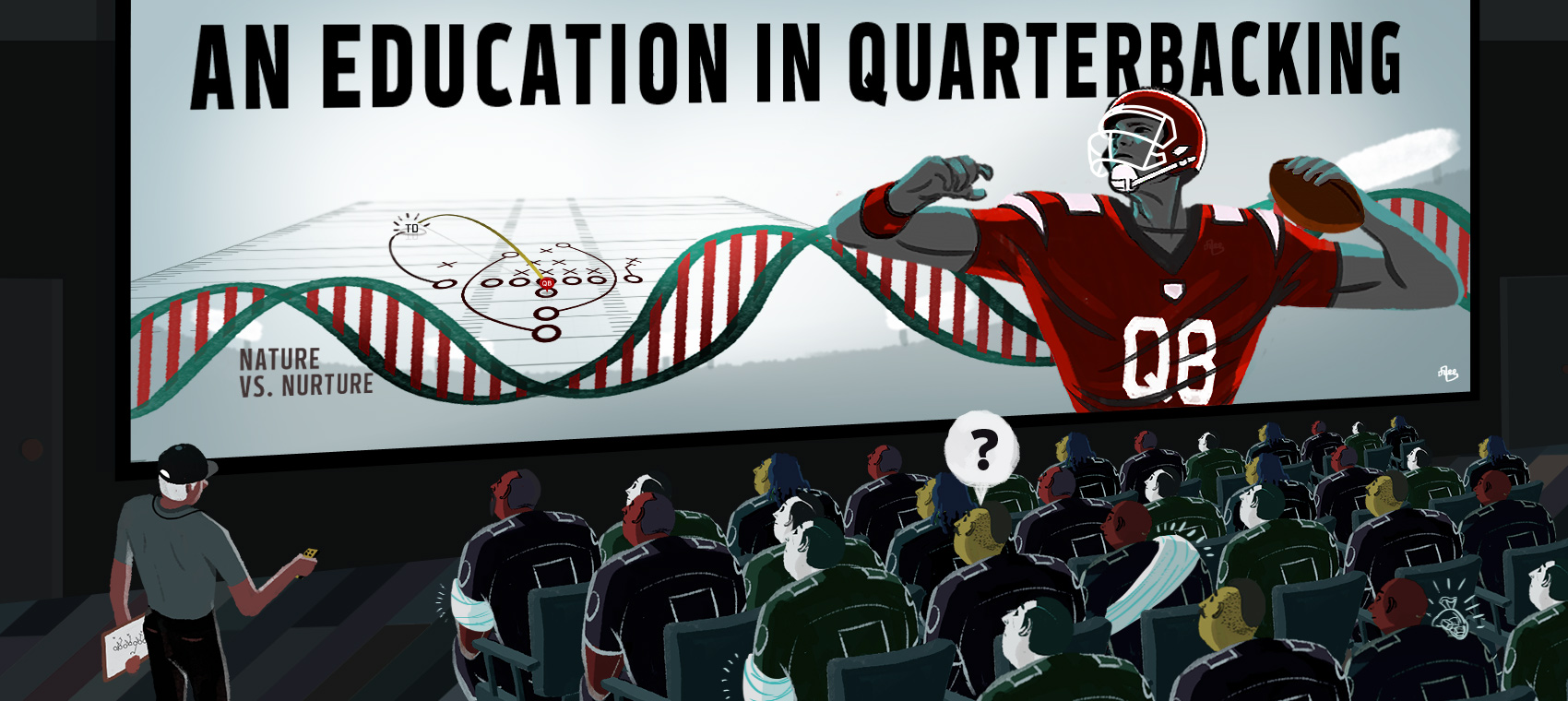 An Education in Quarterbacking