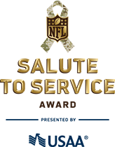 ... NFL community to honor and support U.S. service members 24c1a949c