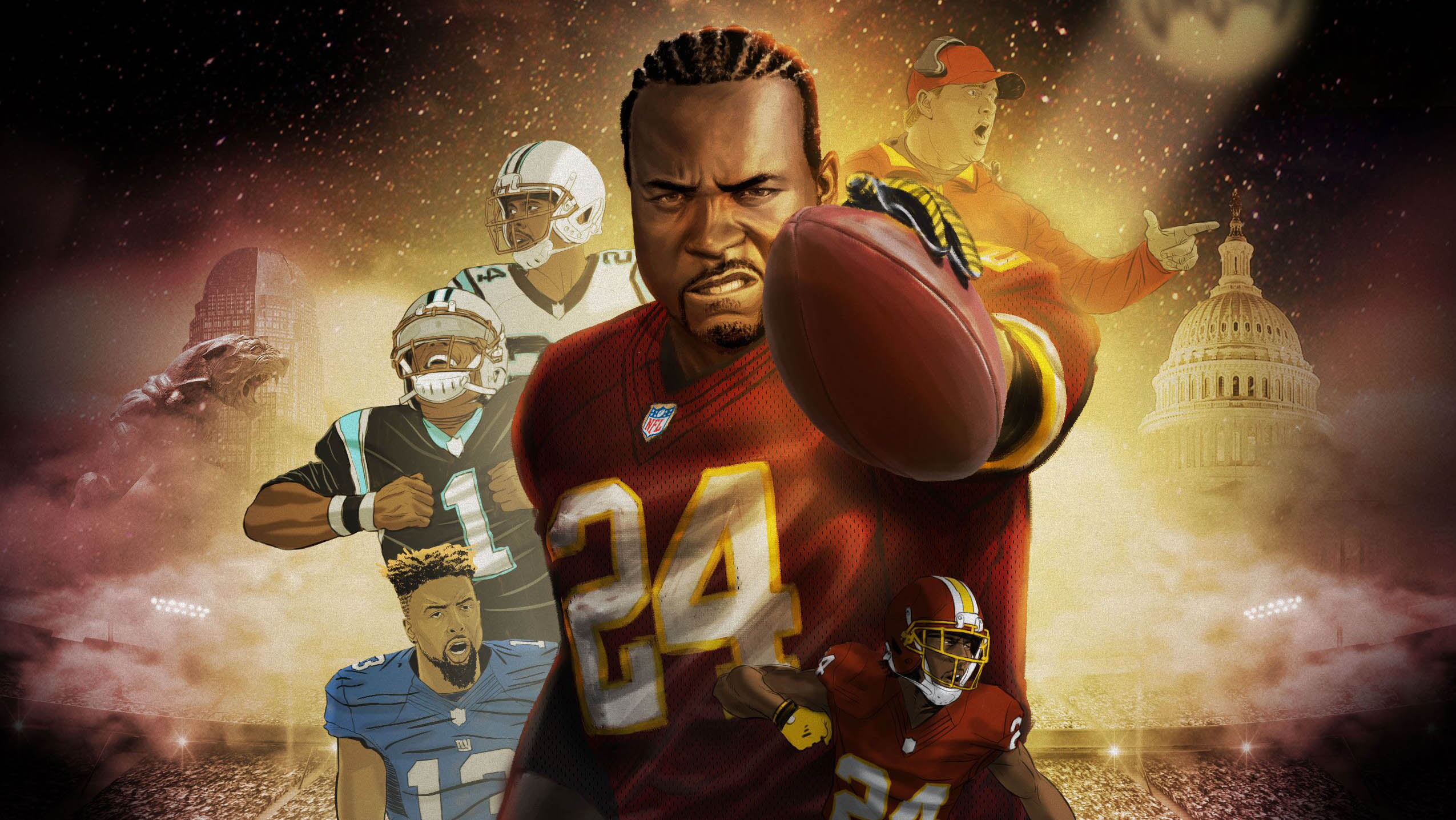 Character Corner with Josh Norman