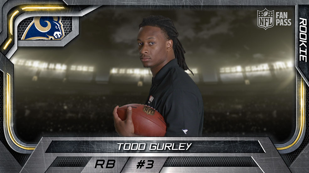 Virtual Rookie Card: Todd Gurley