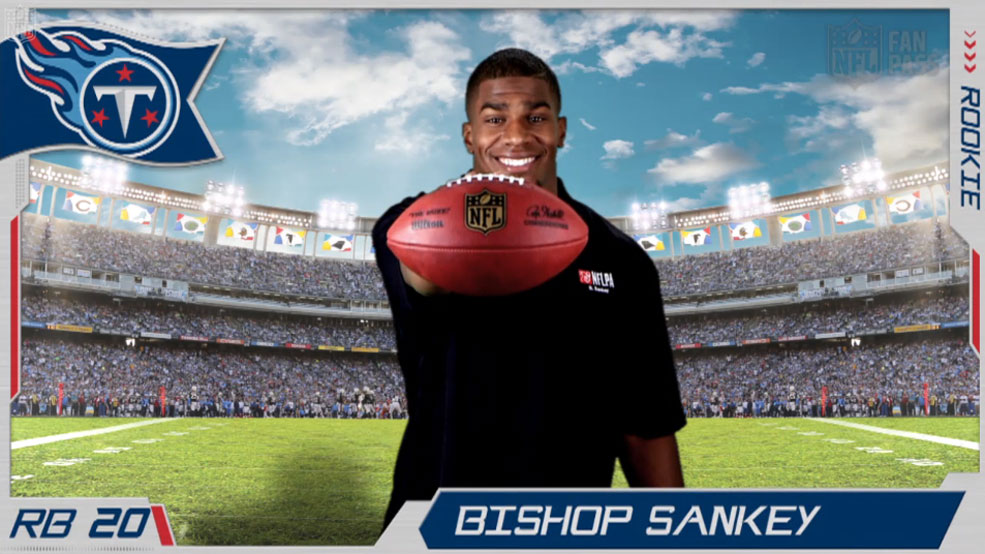 Virtual Rookie Card: Bishop Sankey
