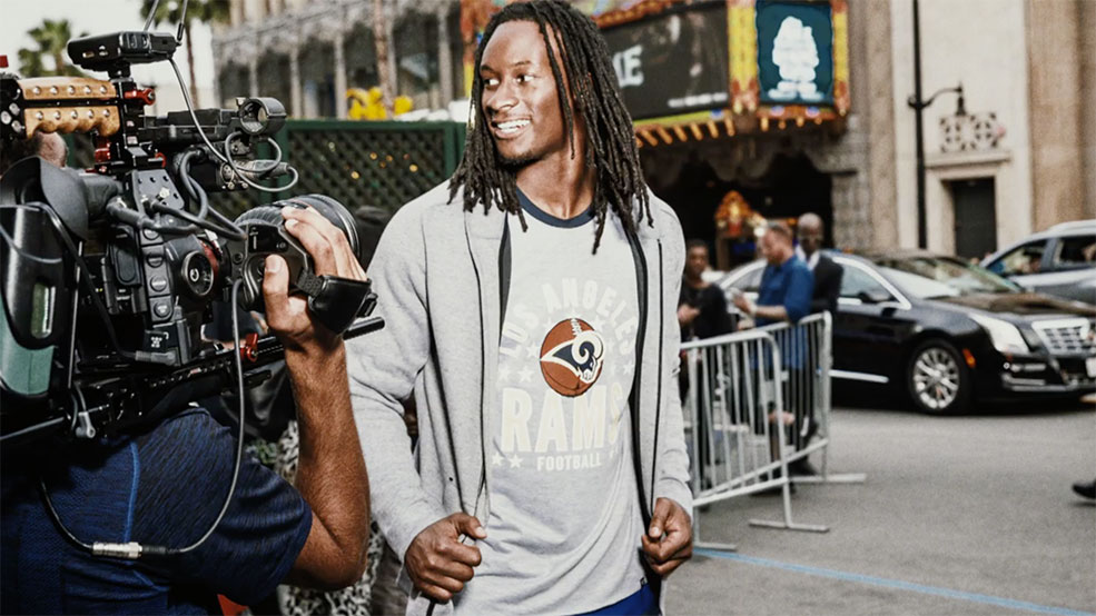 Todd Gurley going HOLLYWOOD!