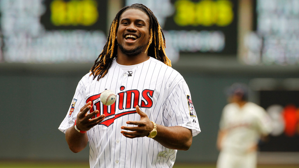 Cordarrelle Patterson: Pitching Ace! Home Run Slugger!