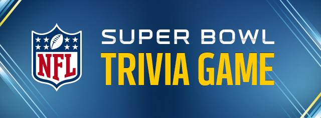 Super Bowl Trivia Game