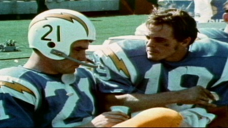 Lance Alworth Catching Top Ten Pass Co...
