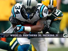 Watch: Week 13: Panthers vs Packers Game of the Week