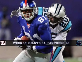 Watch: Week 16: Panthers vs Giants Game of the Week