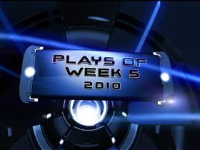 Watch: 2010: Top 10 Plays of Week 5