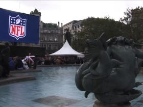 Watch: NFL UK fans rally