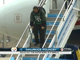 Watch: Pouncey to miss Super Bowl XLV