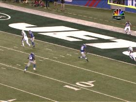 Watch: Holmes 17-yard touchdown catch