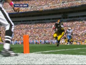 Roethlisberger finds Johnson for third TD of day