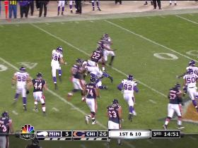 RB Forte, 16-yd, run