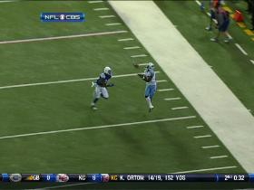 Hasselbeck hits Hawkins for big catch