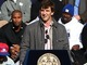 Watch: Eli excited at parade