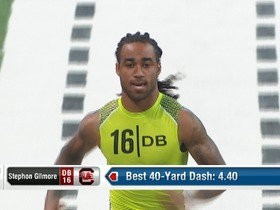 Watch: 2012 Combine workout: Stephon Gilmore