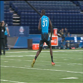 Watch: Krazy moves at the Combine