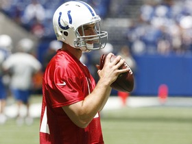 Watch: Luck playing catch-up