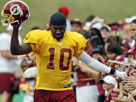 Watch: RG3 'anxious' to get started